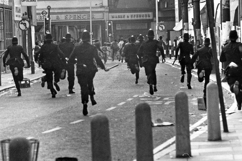 Riot On The Streets Of Brixton